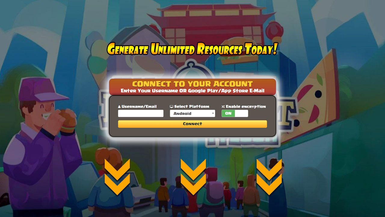 Idle Restaurant Tycoon Hack Tool — Latest Working Cheat Tool