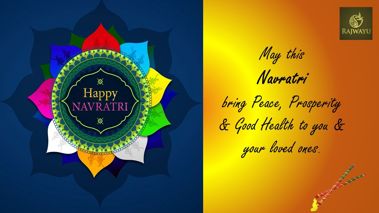 Happy Navratri - Rajwayu - Medium