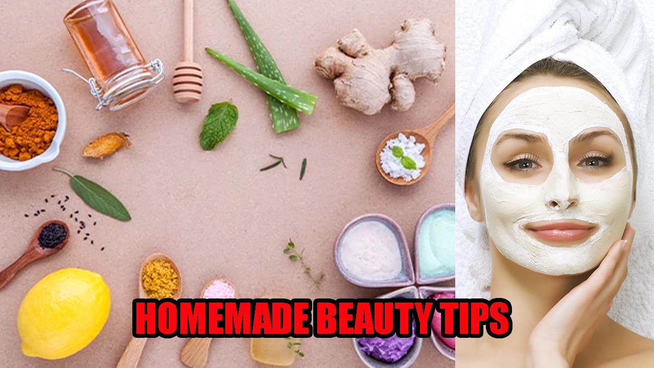Natural Beauty Tips for Face  Home Made Skin Whitening Tricks
