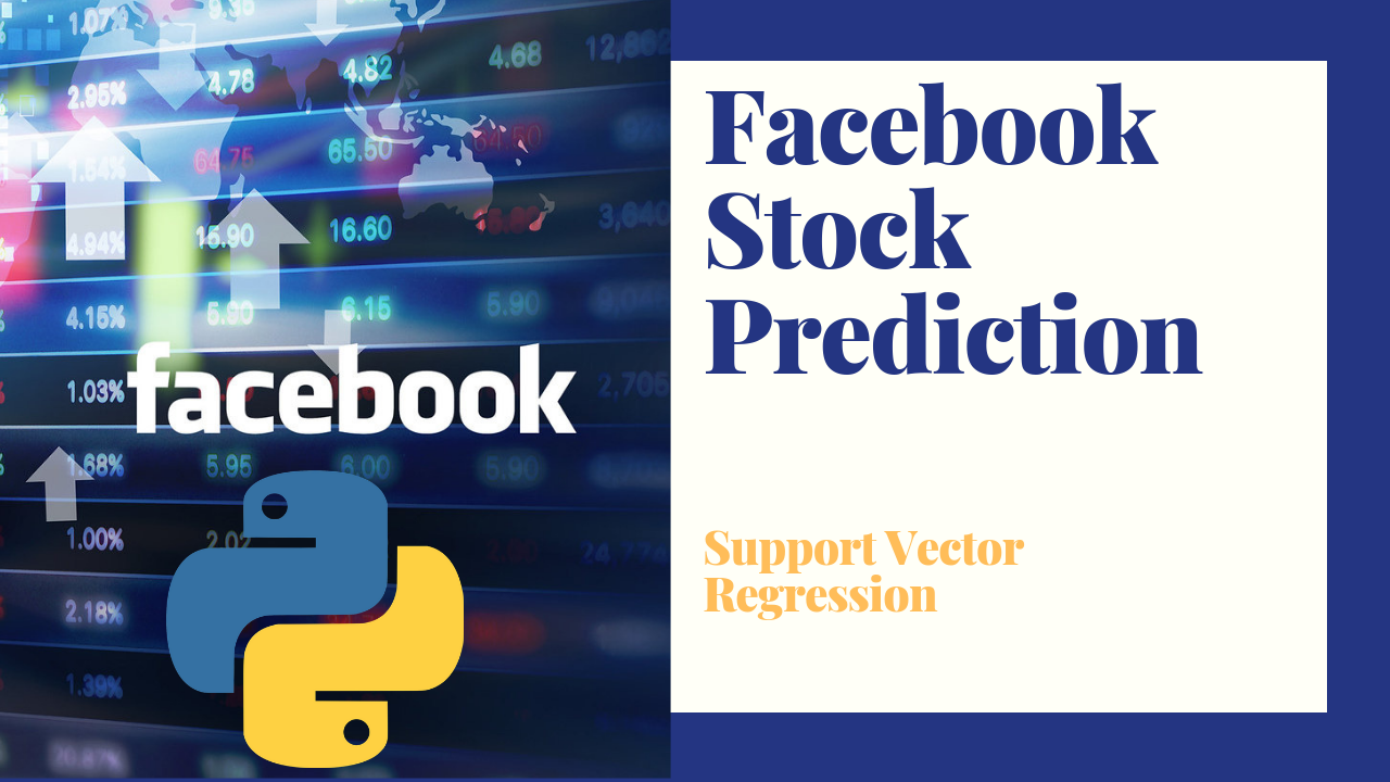 Facebook Stock Prediction Using Python & Machine Learning