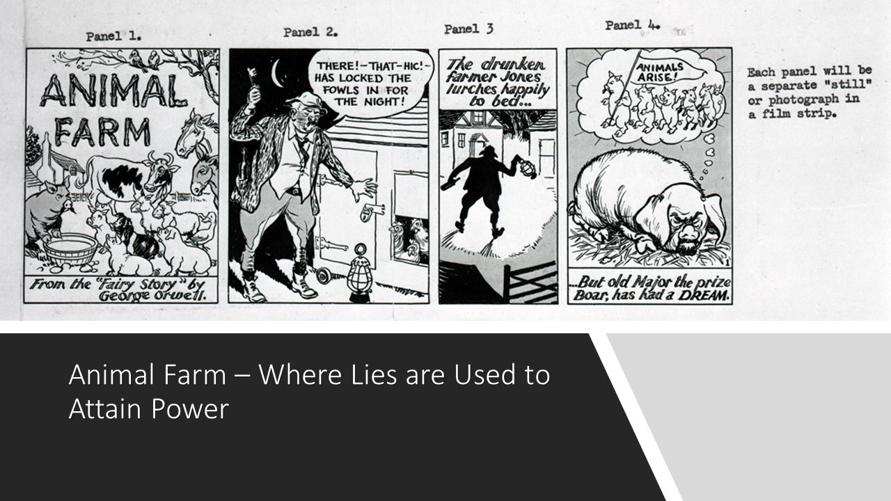Read Animal Farm And Understand Russian Disinformation By J C Scull Dialogue Discourse Medium