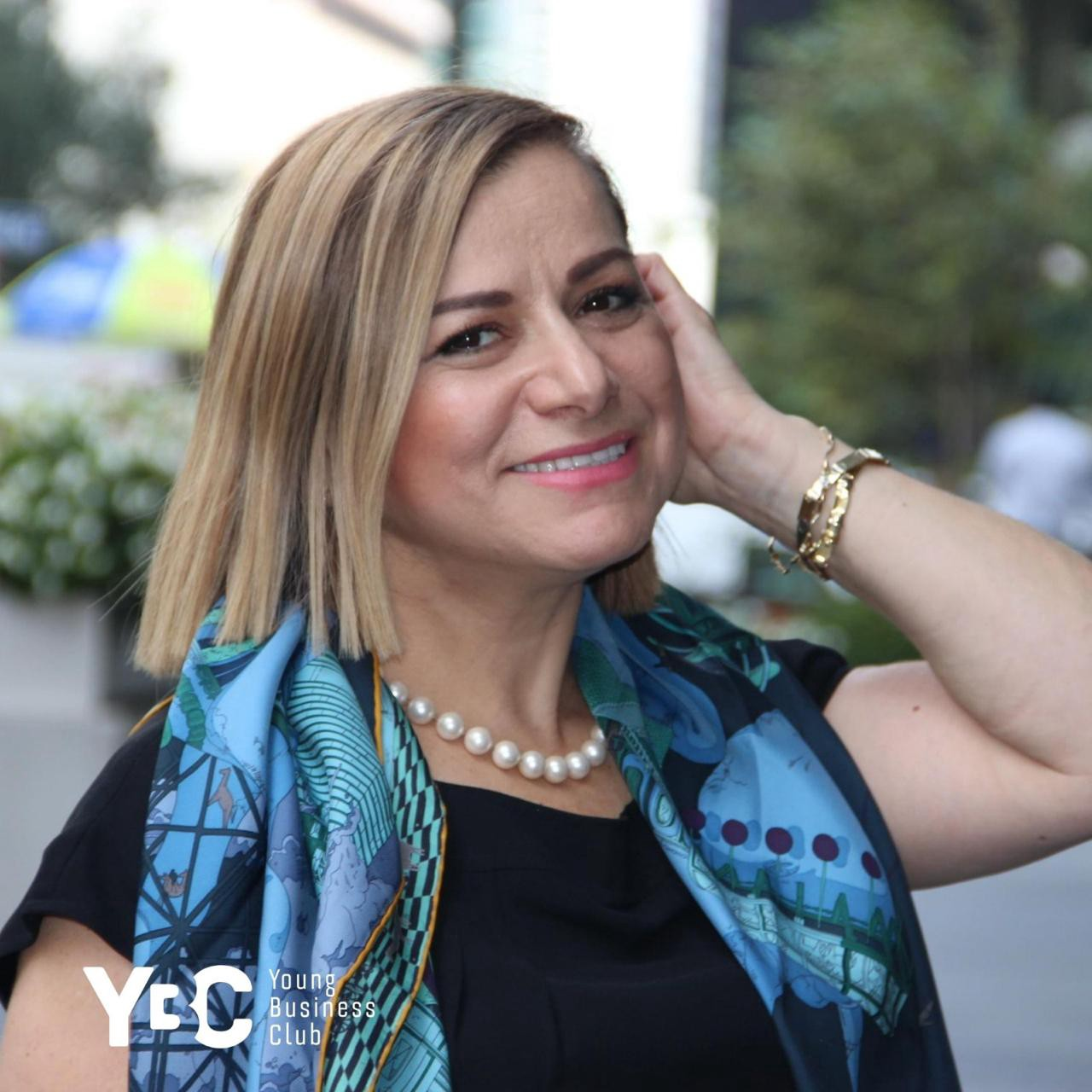 Emma Arakelyan, speaker of the Young Business Club of New York City, YBC NYC