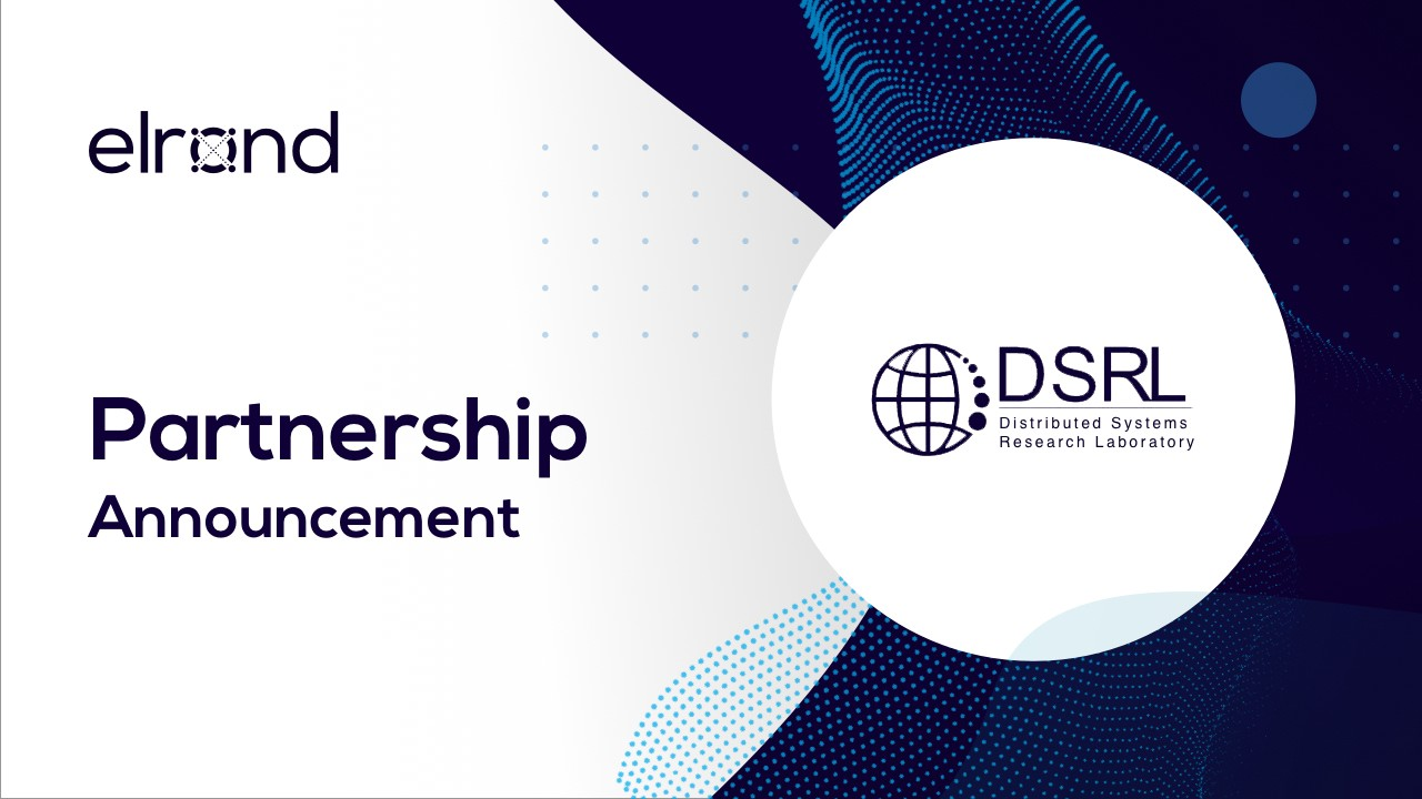 Partnership announcement — Elrond initiates cooperation with
