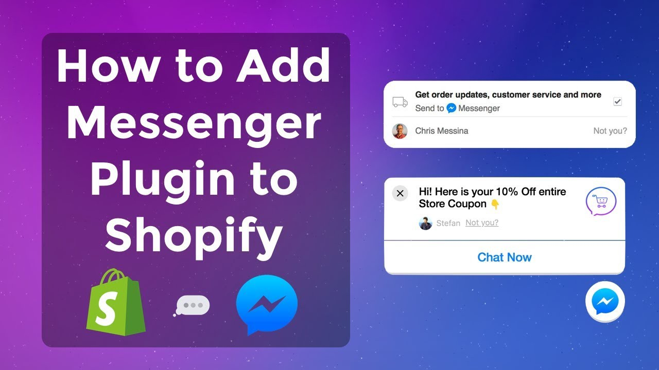 How To Set Up Facebook Messenger Chat On Your Shopify Store