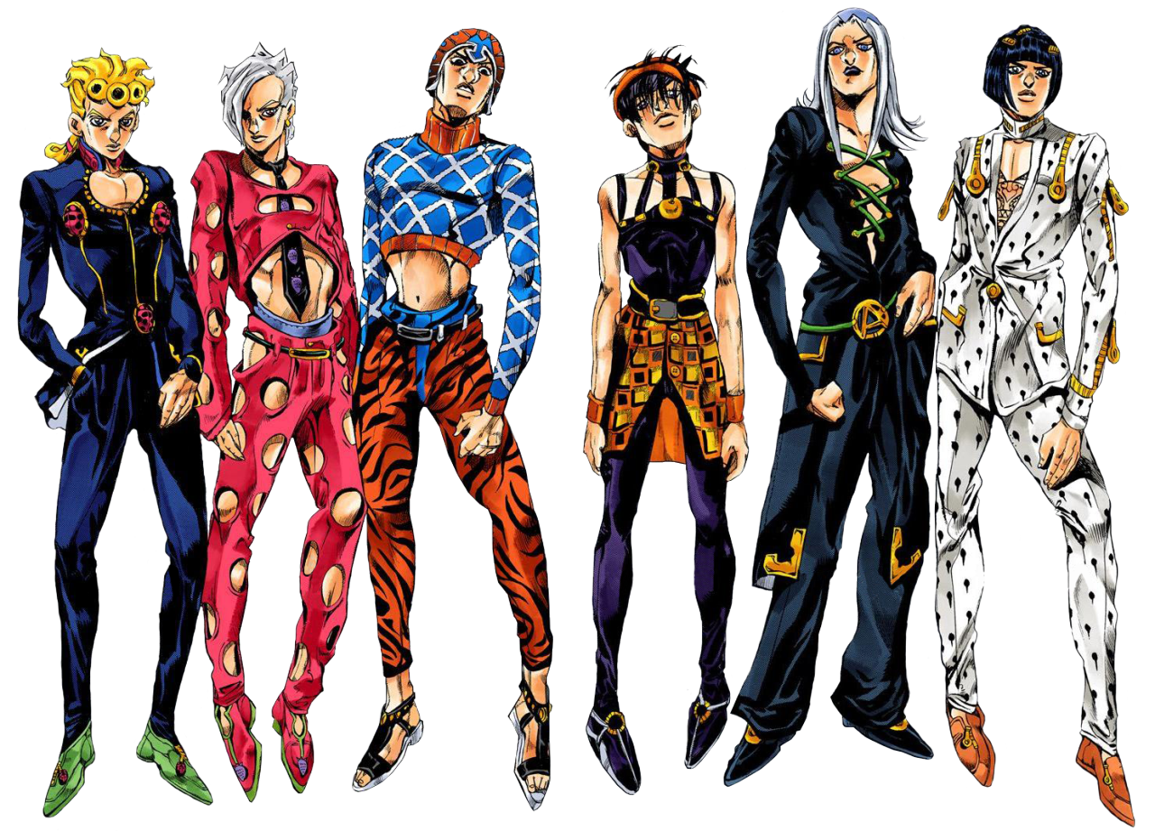 An essay about JoJo's Bizarre Adventure and queer masculinities