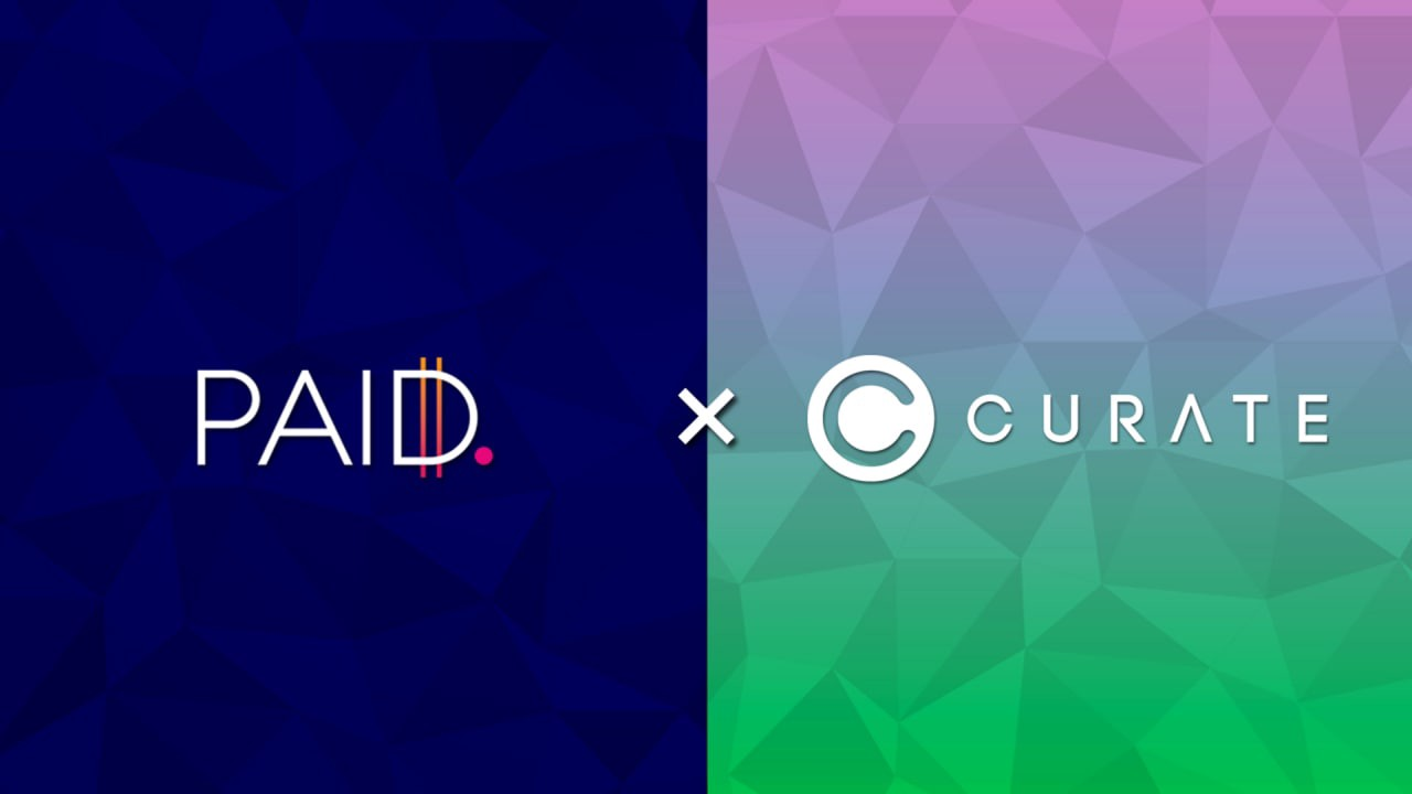 PAID Network Partners With CURATE