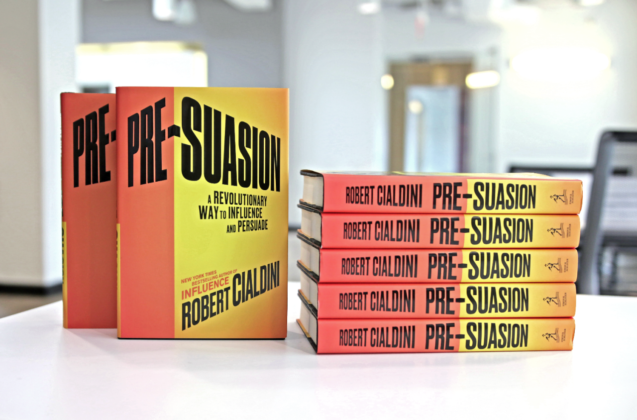 Book Review - Pre-Suasion: Channeling Attention For Change