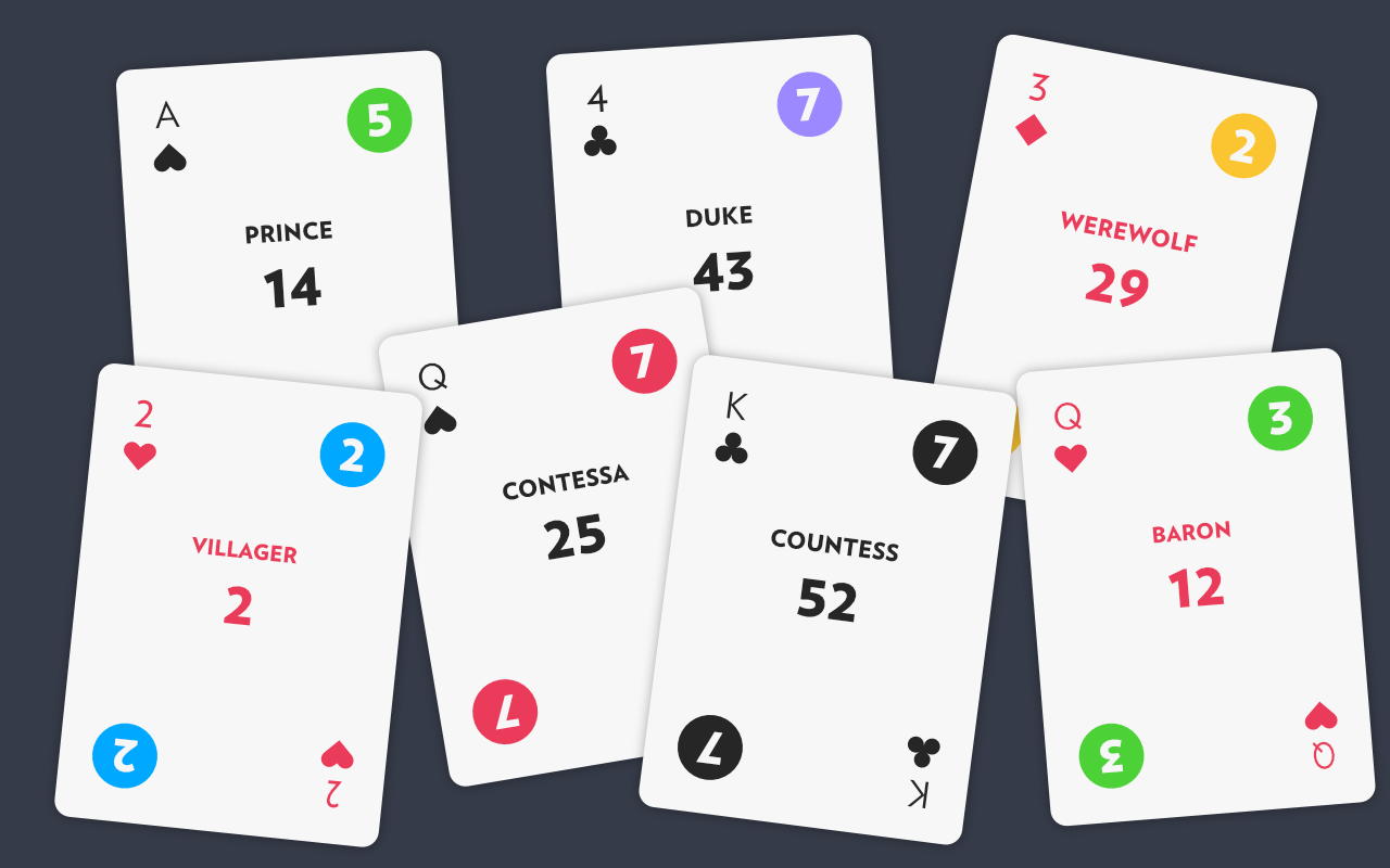 I Created My Own Minimalist Deck of 54 Playing Cards for All