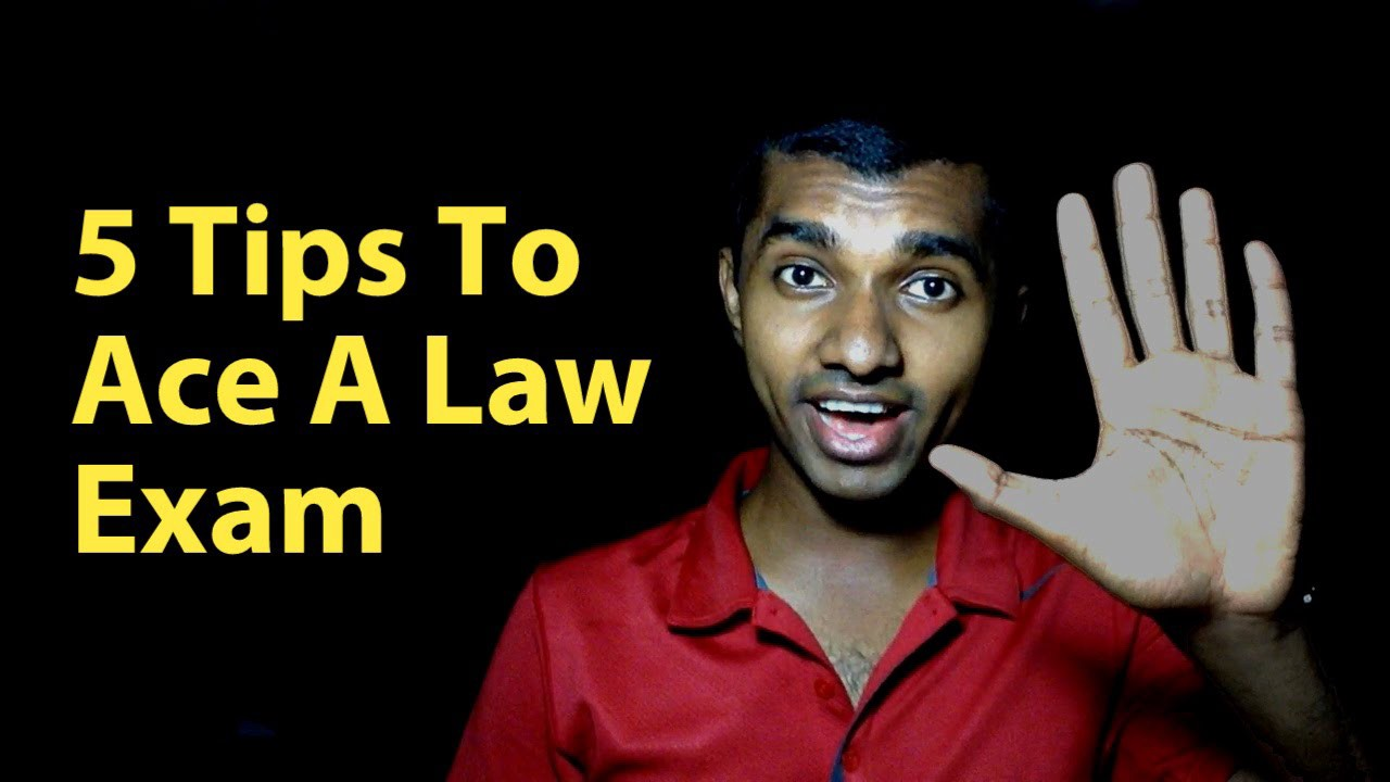 5 Tips to ACE a Law Exam by Shaveen Bandaranayake for The Law Simplified