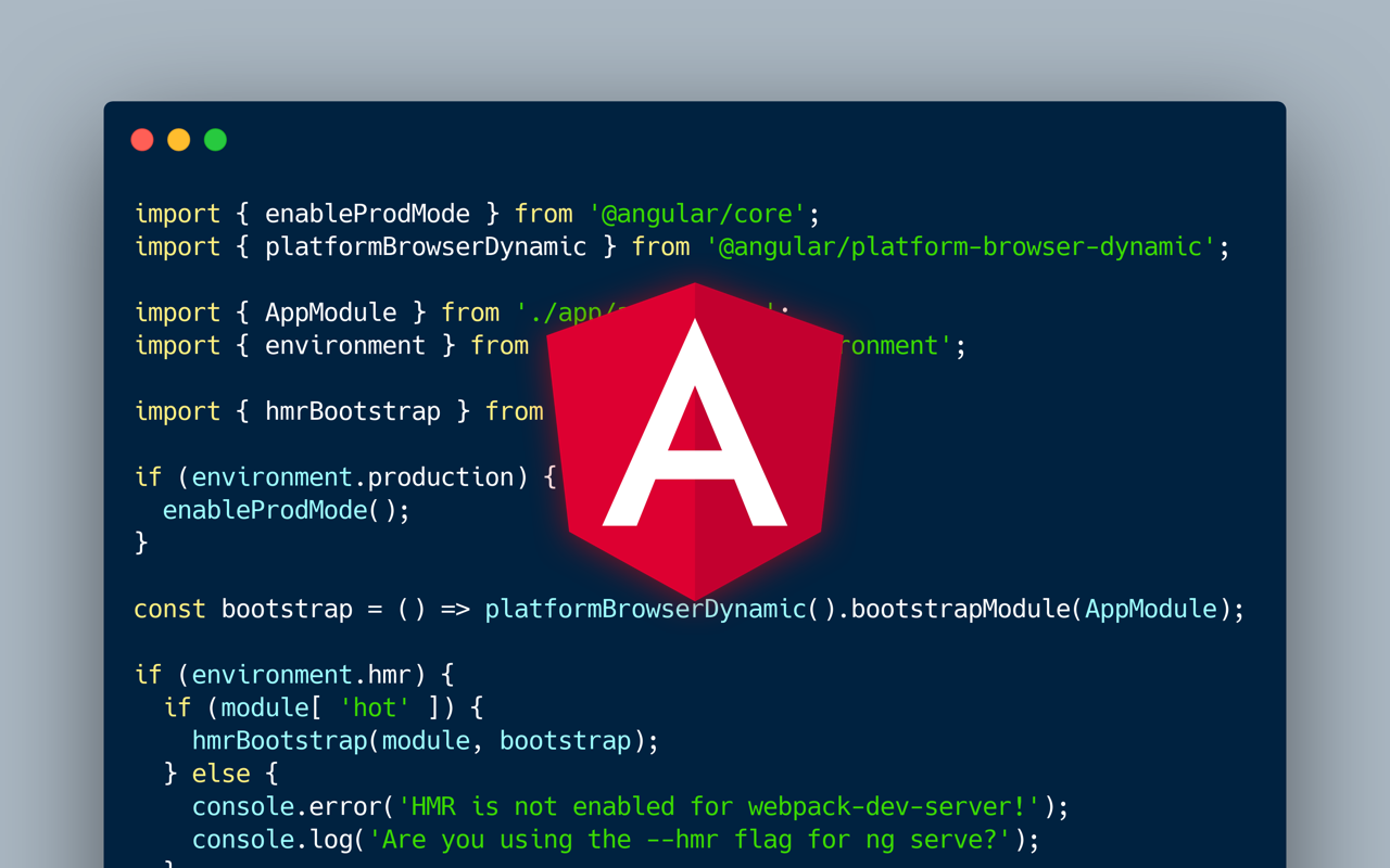 Getting the most out of Angular: Hot Module Replacement, Two