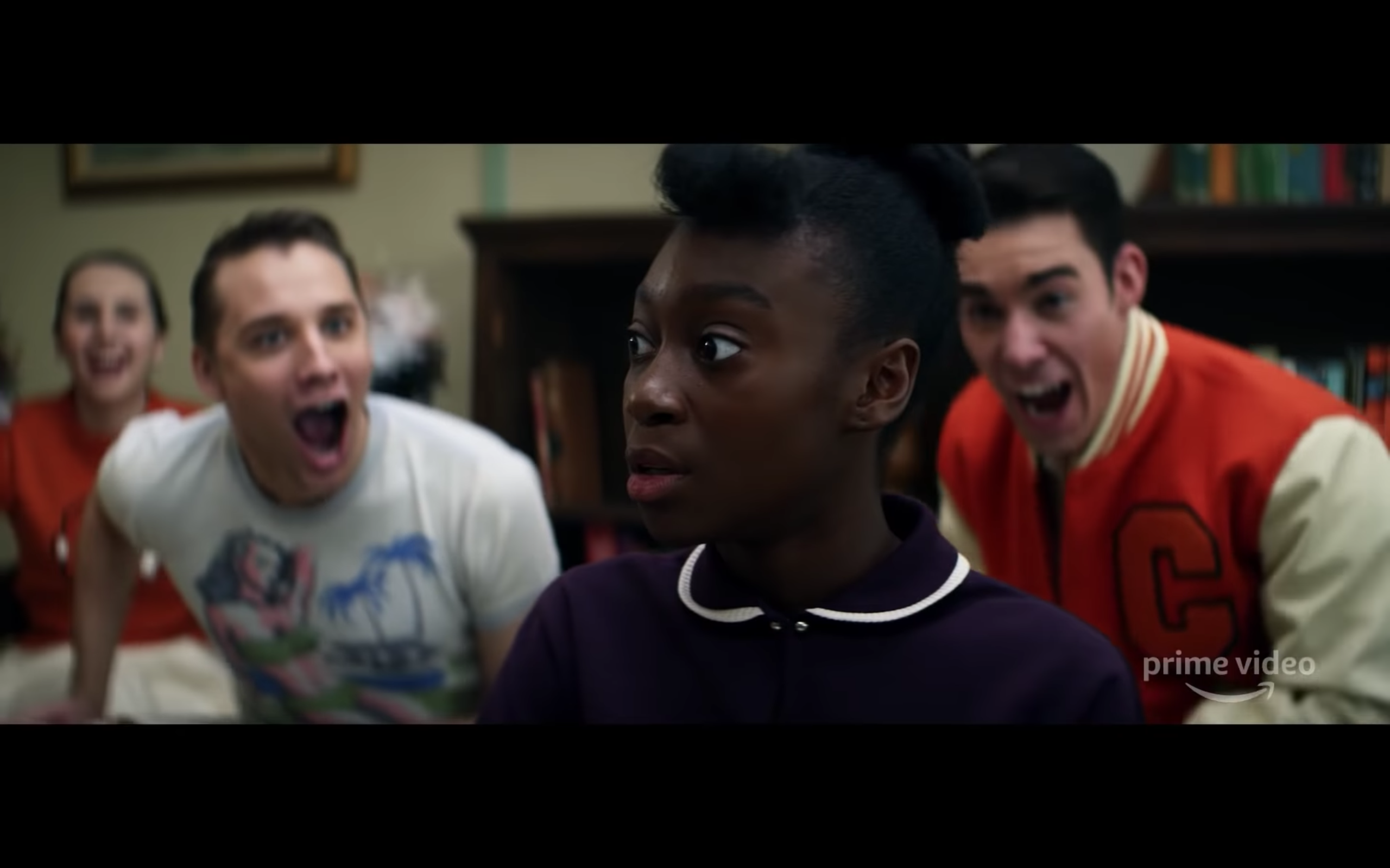 Shahadi Wright Joseph is openly mocked in class when answering a question from her teacher