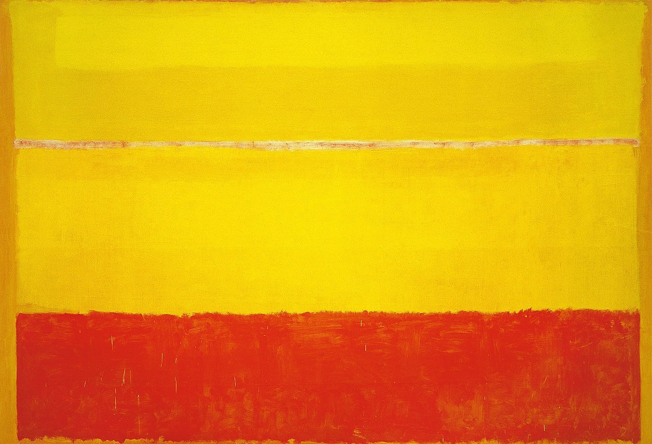 Abstract Expressionism In Colors By Mark Rothko Artwizard