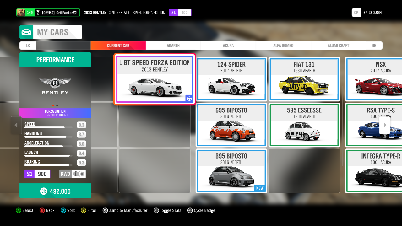The Completionist Life Forza Horizon 4 Part Ii The Menus By Crill Medium