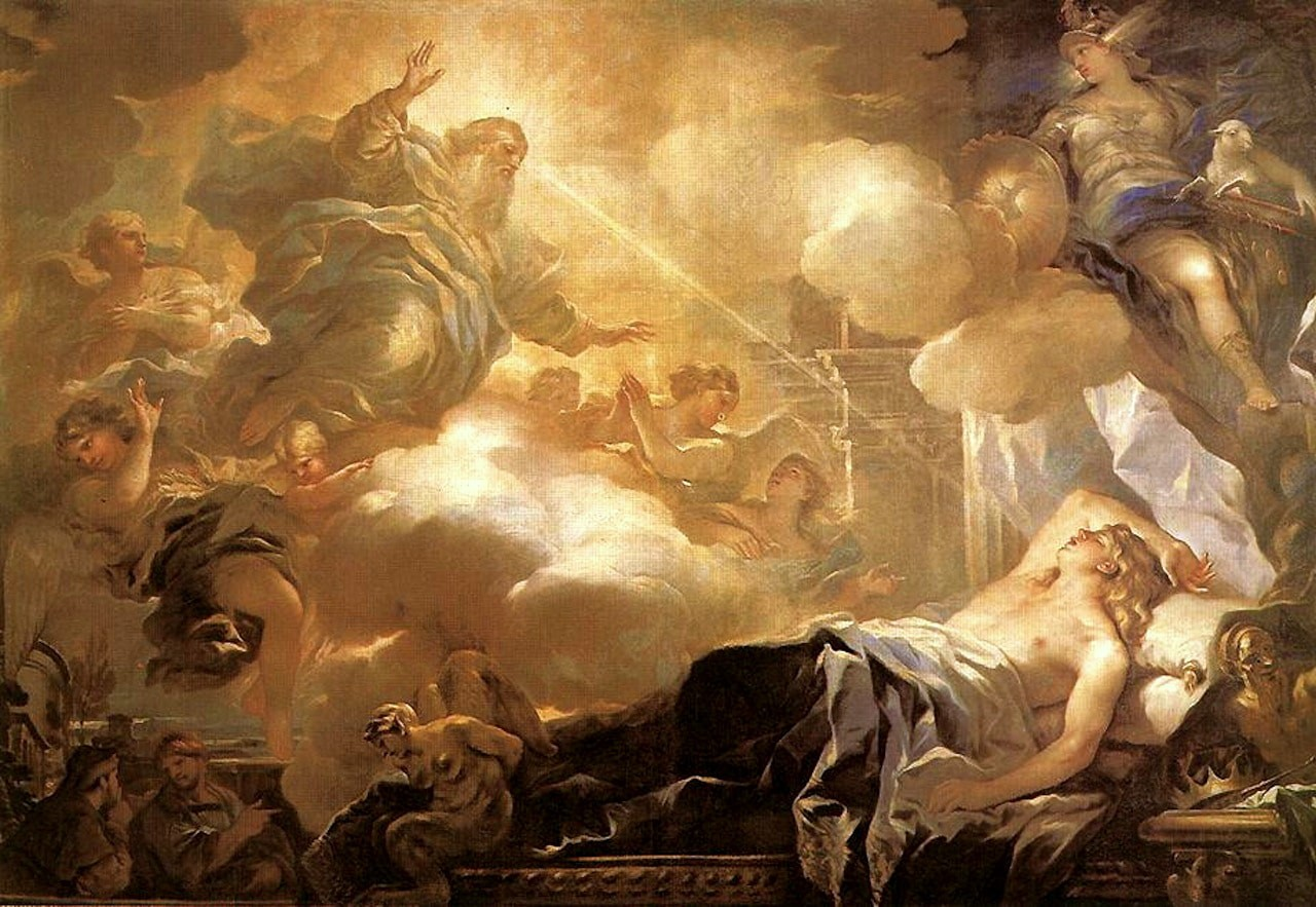 King Solomon's Dream by Luca Giordana
