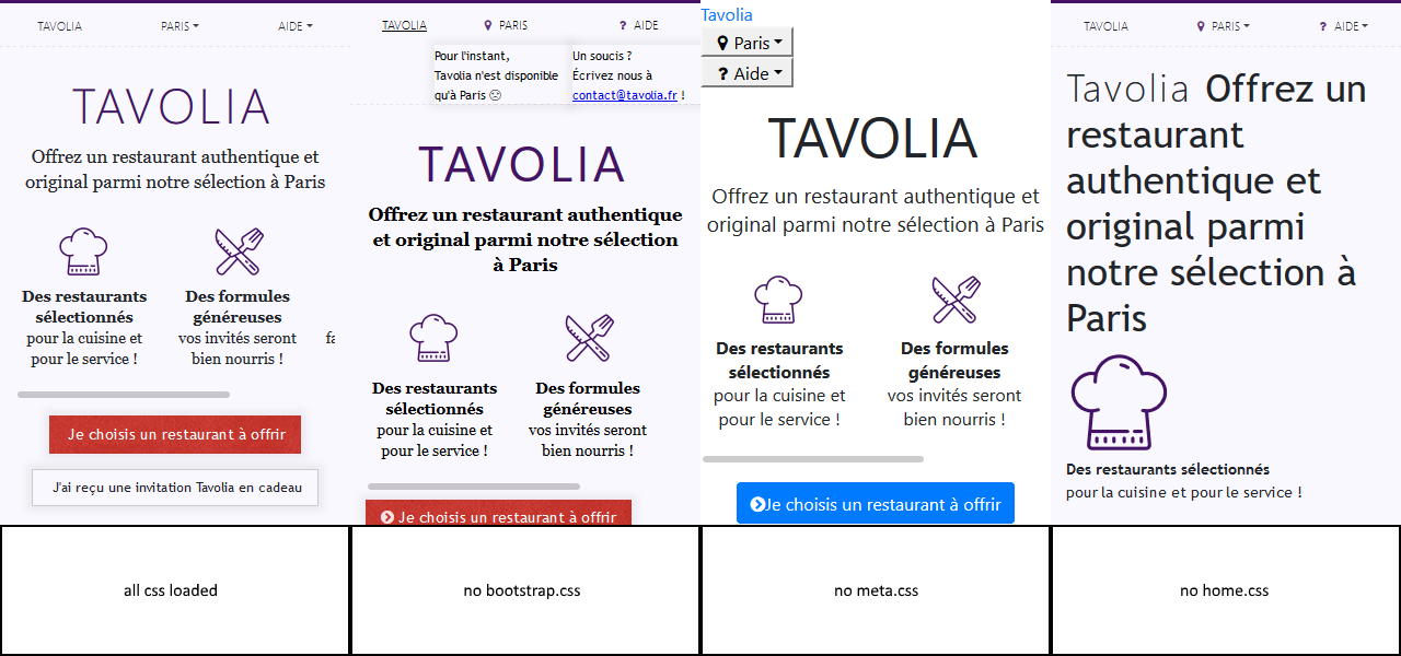Eliminate render-blocking CSS in above-the-fold content