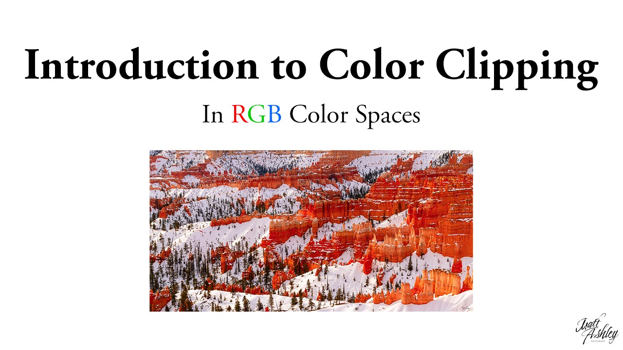 Tutorial Thumbnail: Introduction to Color Clipping in RGB Color Spaces