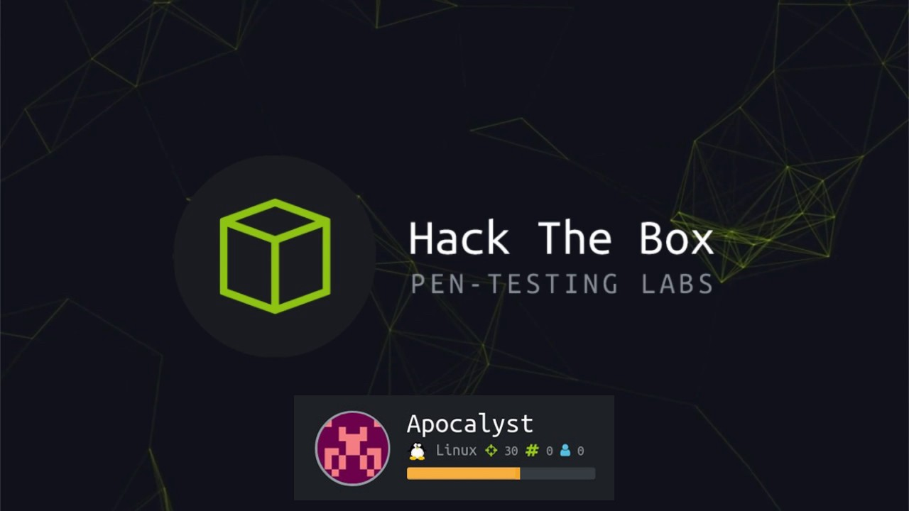 HackTheBox | Apocalyst CTF Writeup - secjuice™ - Medium