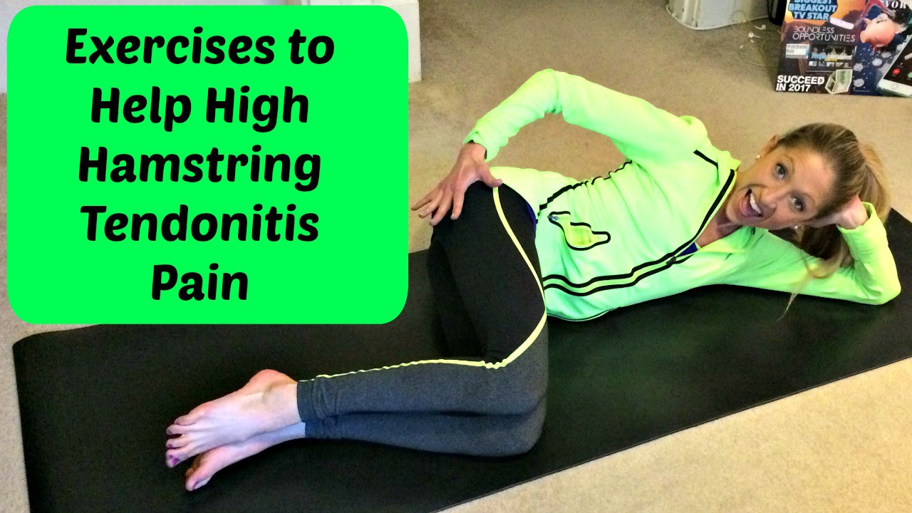 "Get Over ""Pain In the Butt"" High Hamstring Tendonitis Pain"