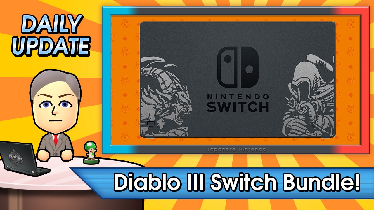 Monday Update: Diablo III Switch Bundle, Super Zangyura