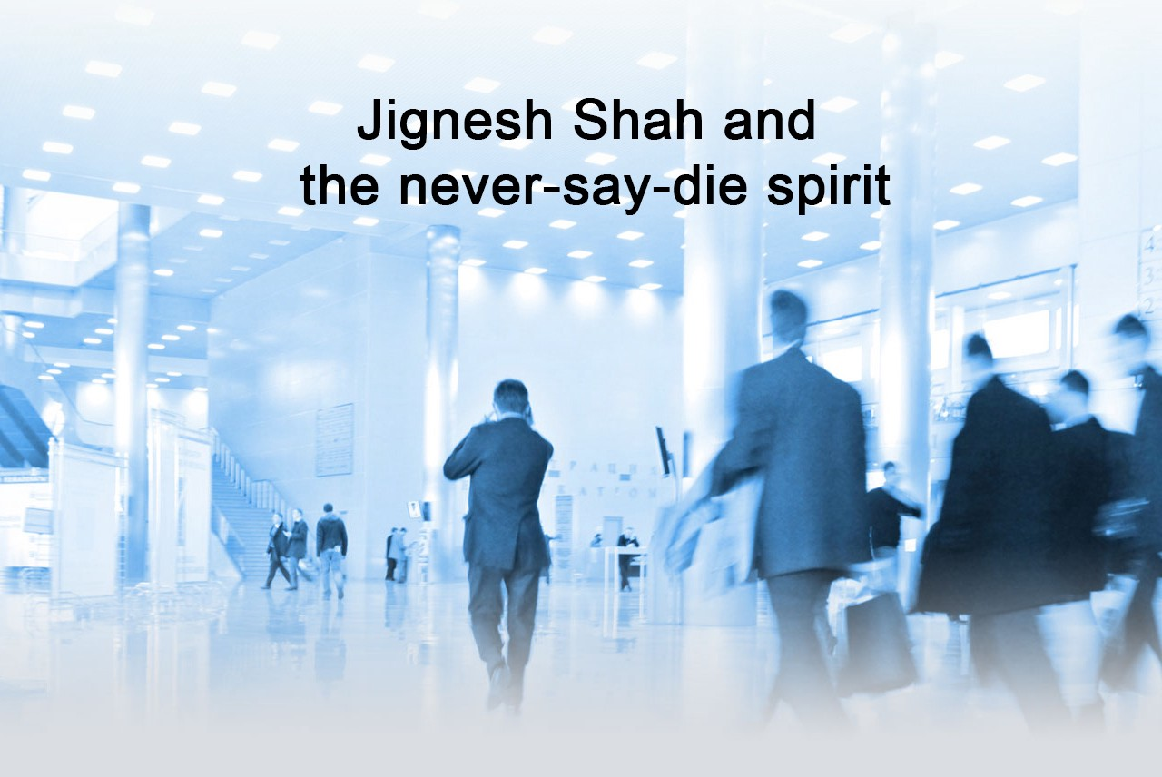 Jignesh Shah And The Never Say Die Spirit By The Target Book Medium