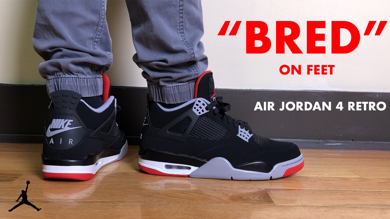 "newest e7d2a dd17c Release Recap: Air Jordan 4 Retro ""Bred"" - steve natto - Medium"