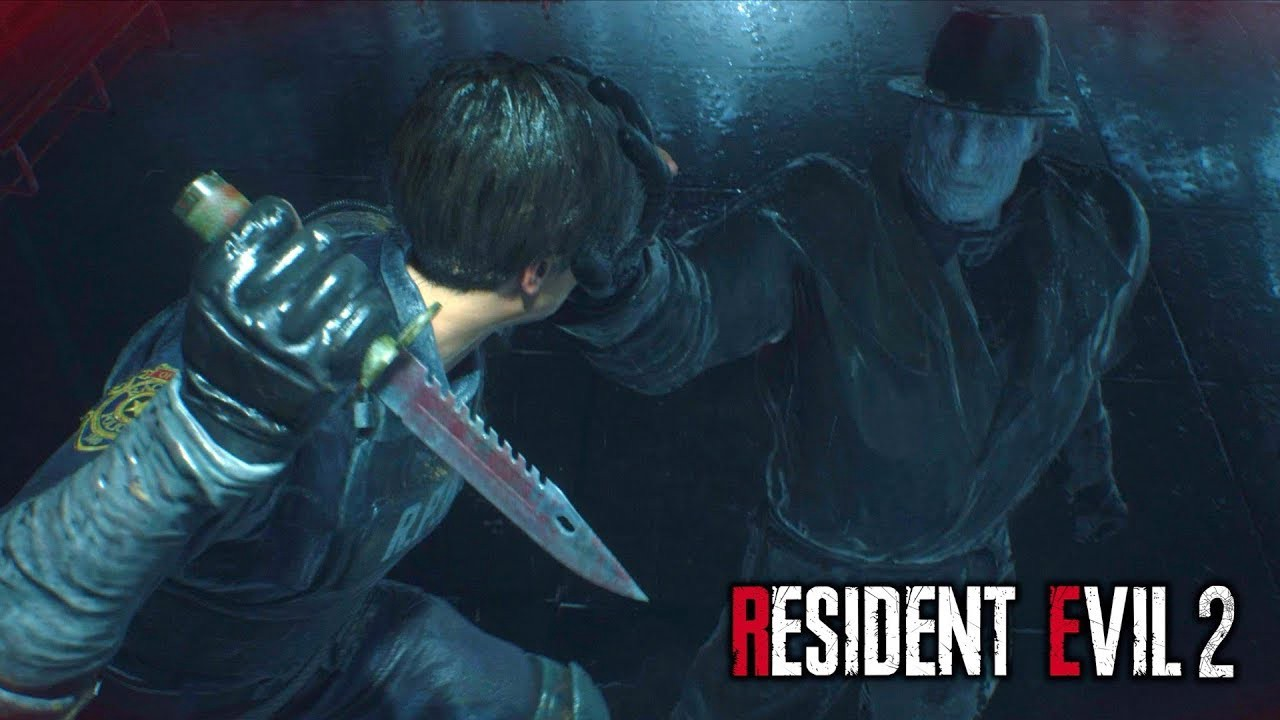 How To Beat Mr X The Tyrant Boss In Resident Evil 2 Remake By