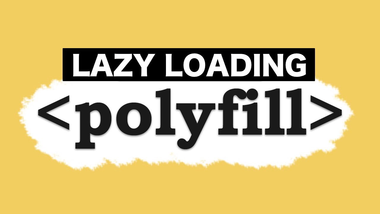 Lazy loading polyfills with WebPack and dynamic imports