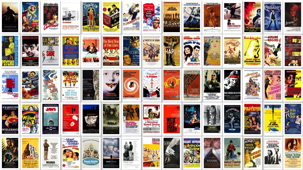 The greatest films of all time- a list compiled from