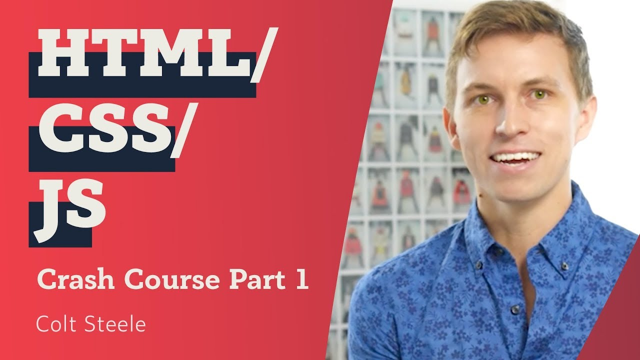 Learn HTML, CSS, and JavaScript! Colt Steele's Free Video