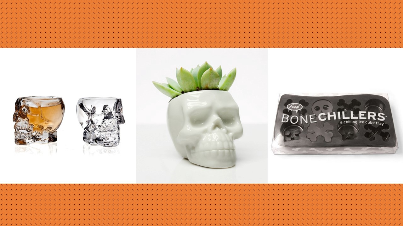 5 Subtle Halloween Skull Decorations That Are Under $16