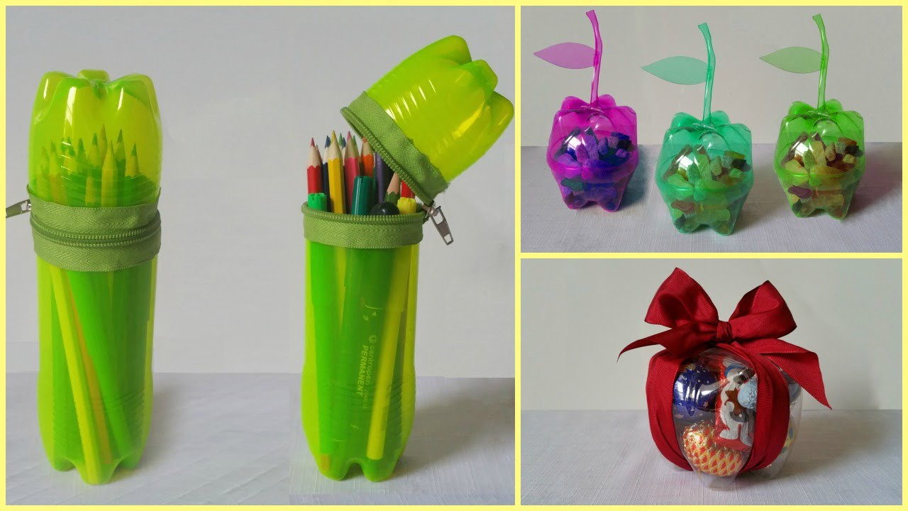 21 Handicraft Ideas Using Plastic Bottle  by Sarah Lavinski  Medium