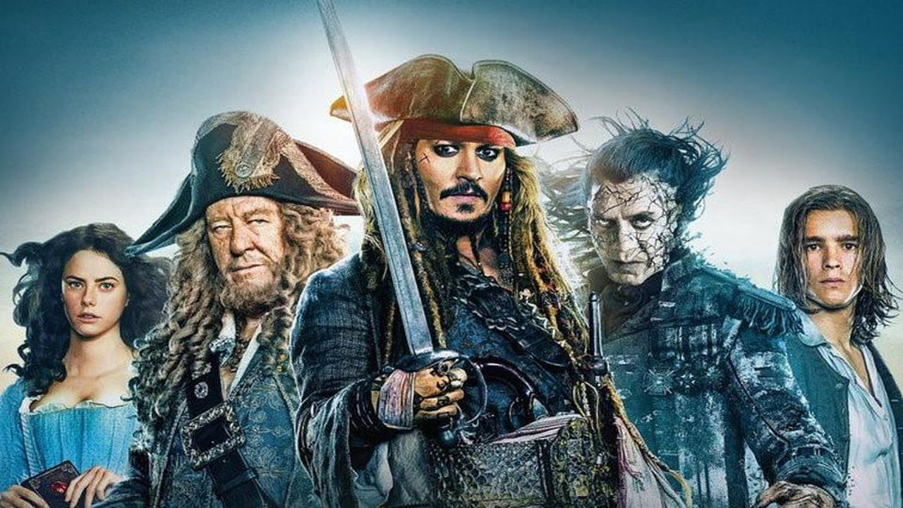 Pirates of the Caribbean: Dead Men Tell No Tales poster. Unfortunately, this isn't the best one.
