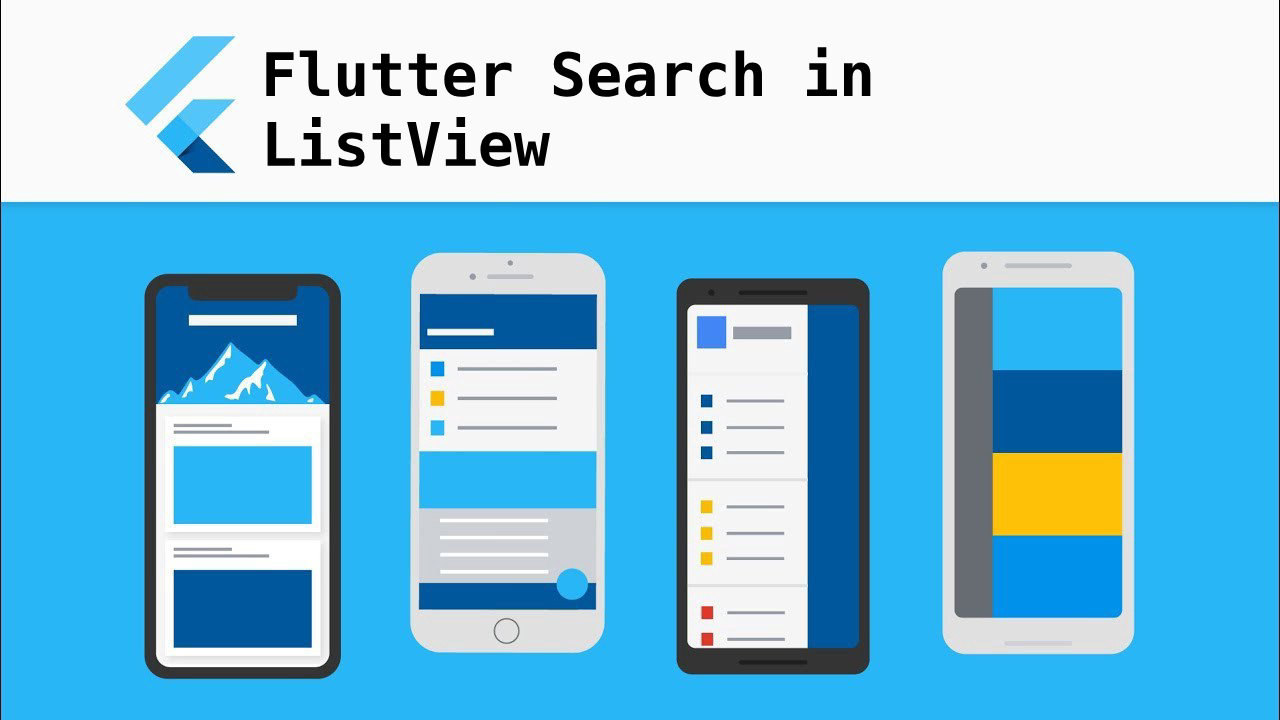 Flutter Search in ListView - Noteworthy - The Journal Blog
