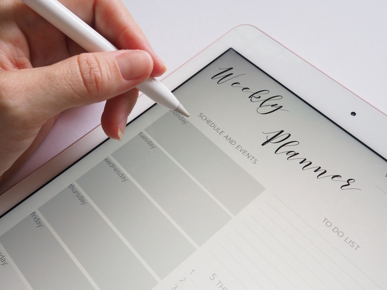 Set a Standard Rest Timetable