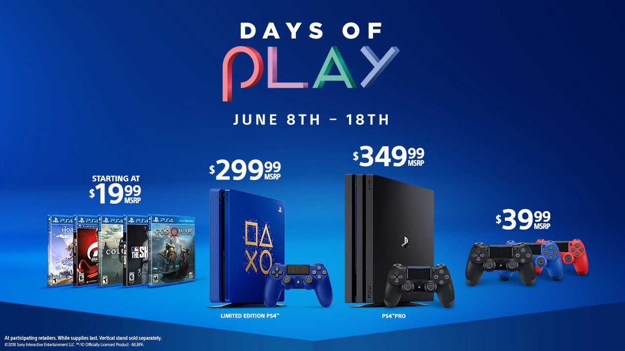 Days Of Play Ushers In 11 Days Of Playstation Deals By Sohrab Osati Sony Reconsidered