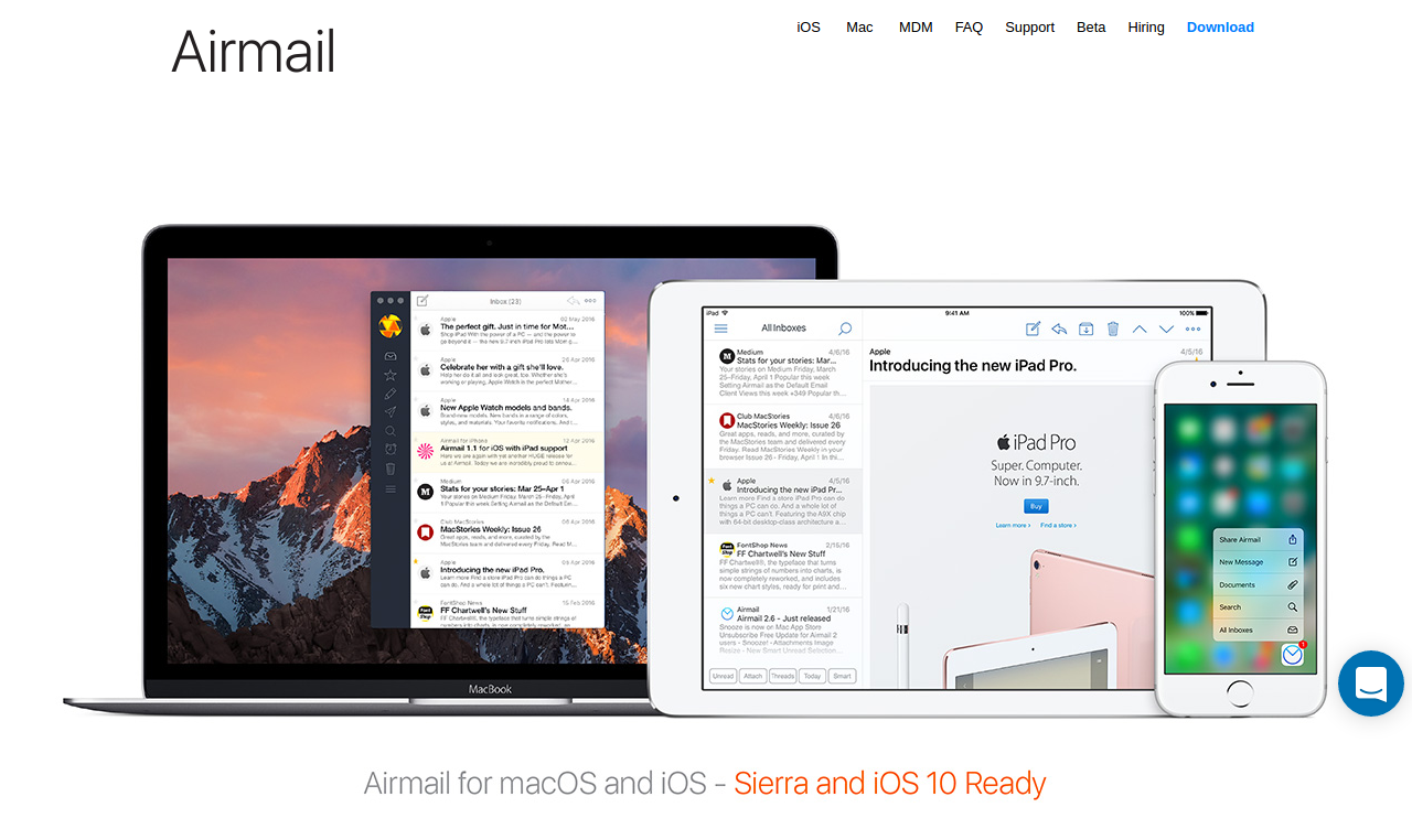 20 Best Desktop Email Client For Every Mac User In 2017