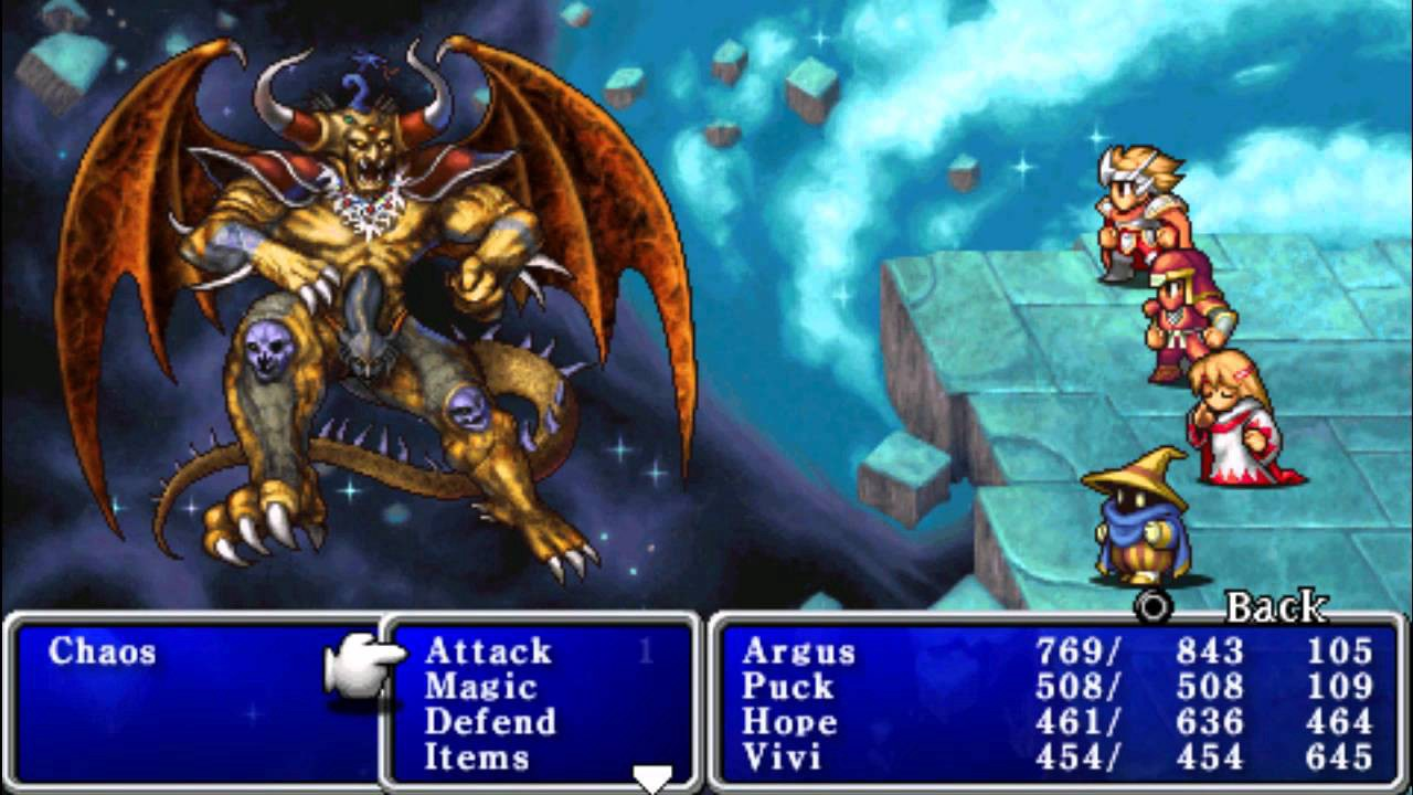 Final Fantasy 6 Rom the best version of every final fantasy game - matthew