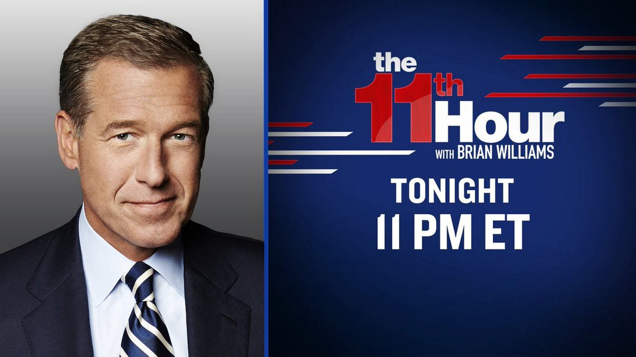 Full News — The 11th Hour with Brian Williams 8/07/20 [Full ...