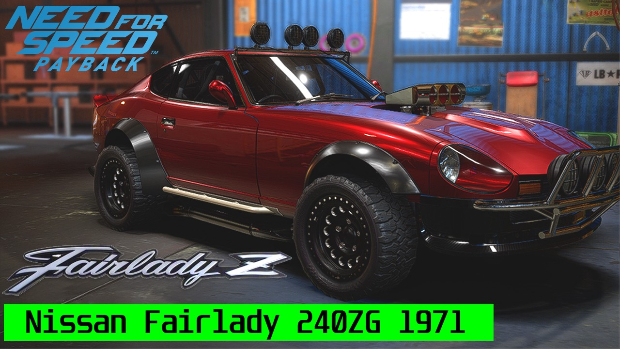 need for speed payback derelict cars