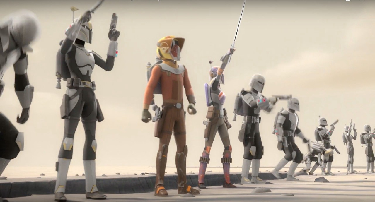 Star Wars Rebels Season 4 Needs To Get Better Than Its First Episode By Aaron Ross Powell Medium