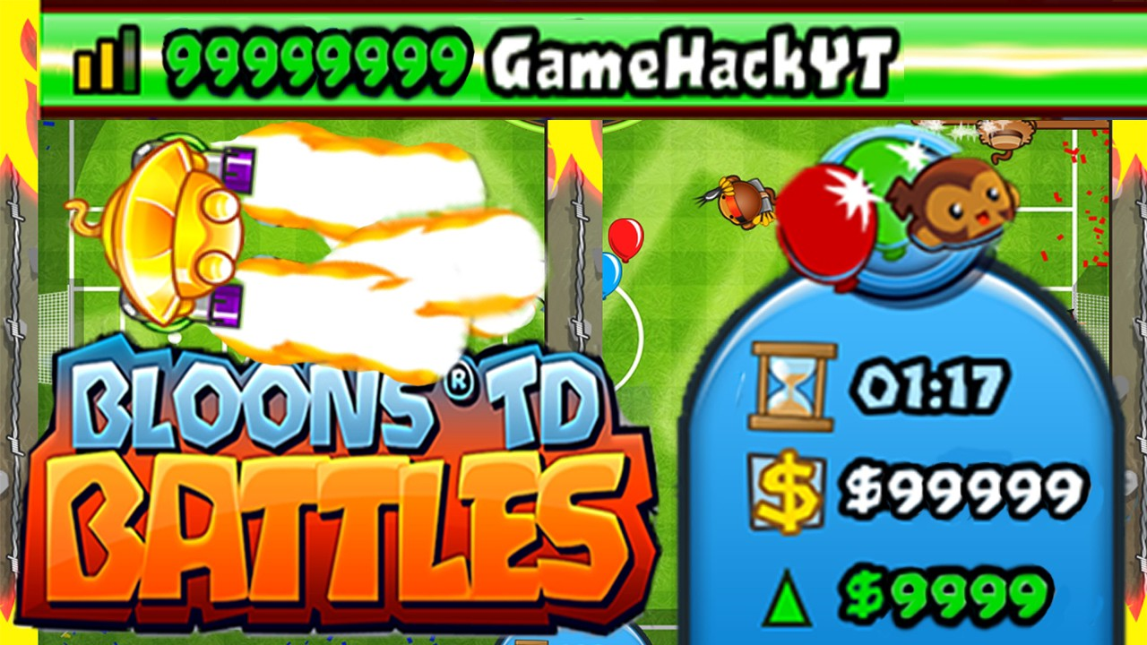 Bloons TD Battles Hack — Free money and medallions - Yohann