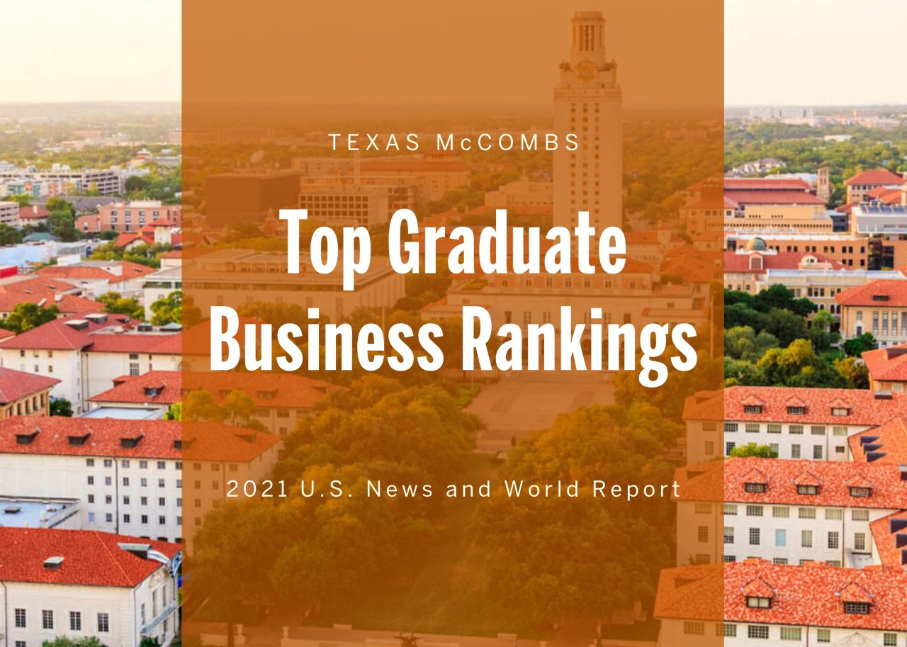 All Mccombs Mba Programs Rise In U S