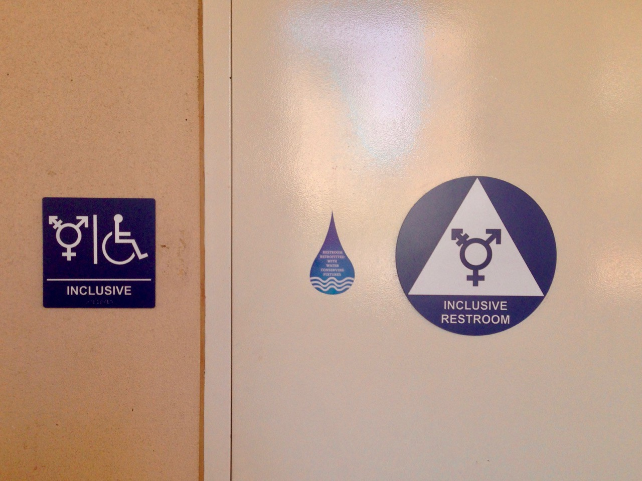 Enjoyable Anxiety And Activism In Transgender Bathroom Signs Don Download Free Architecture Designs Ferenbritishbridgeorg