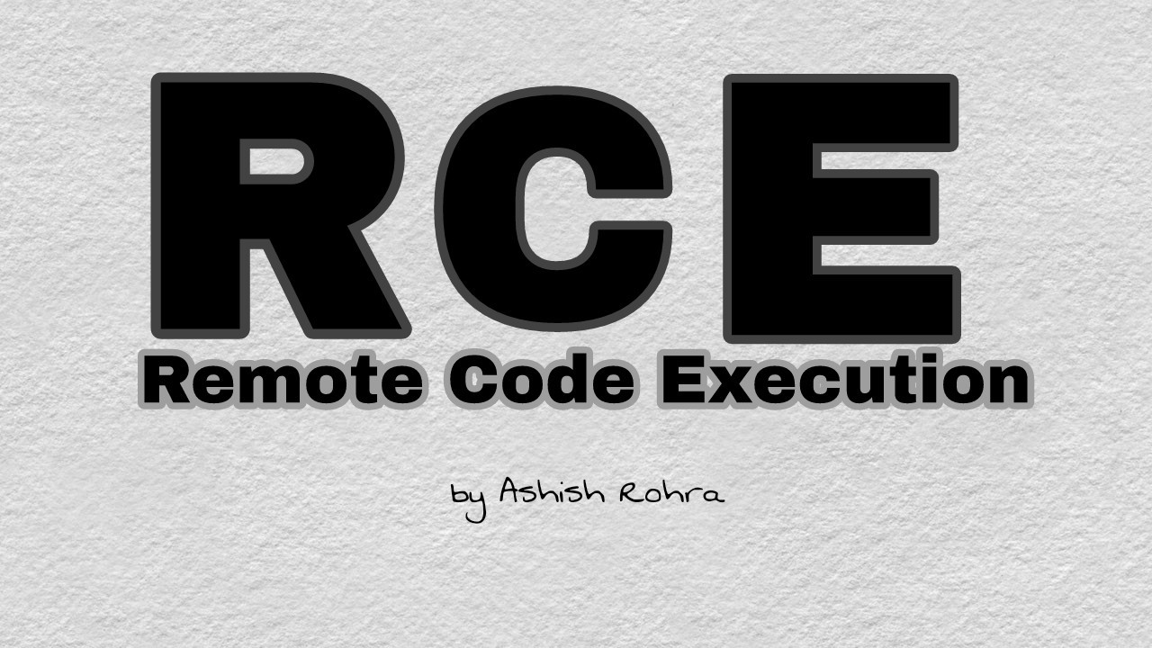 Remote Code Execution - Explaination, Writeups and Tools