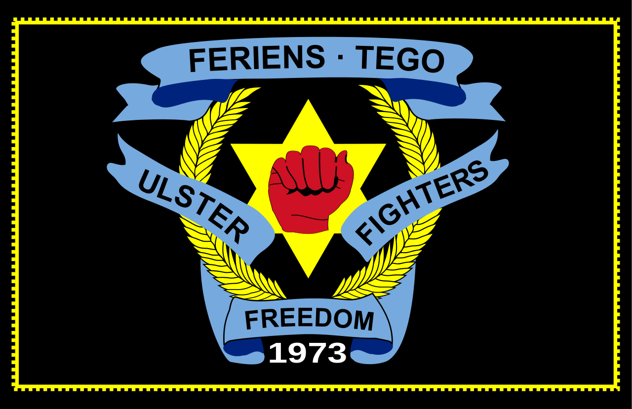 Logo of the Ulster Freedom Fighters—a loyalist paramilitary murder gang