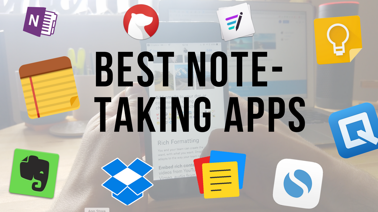 Top 10 Note-taking Apps for 2017 - The Mission - Medium