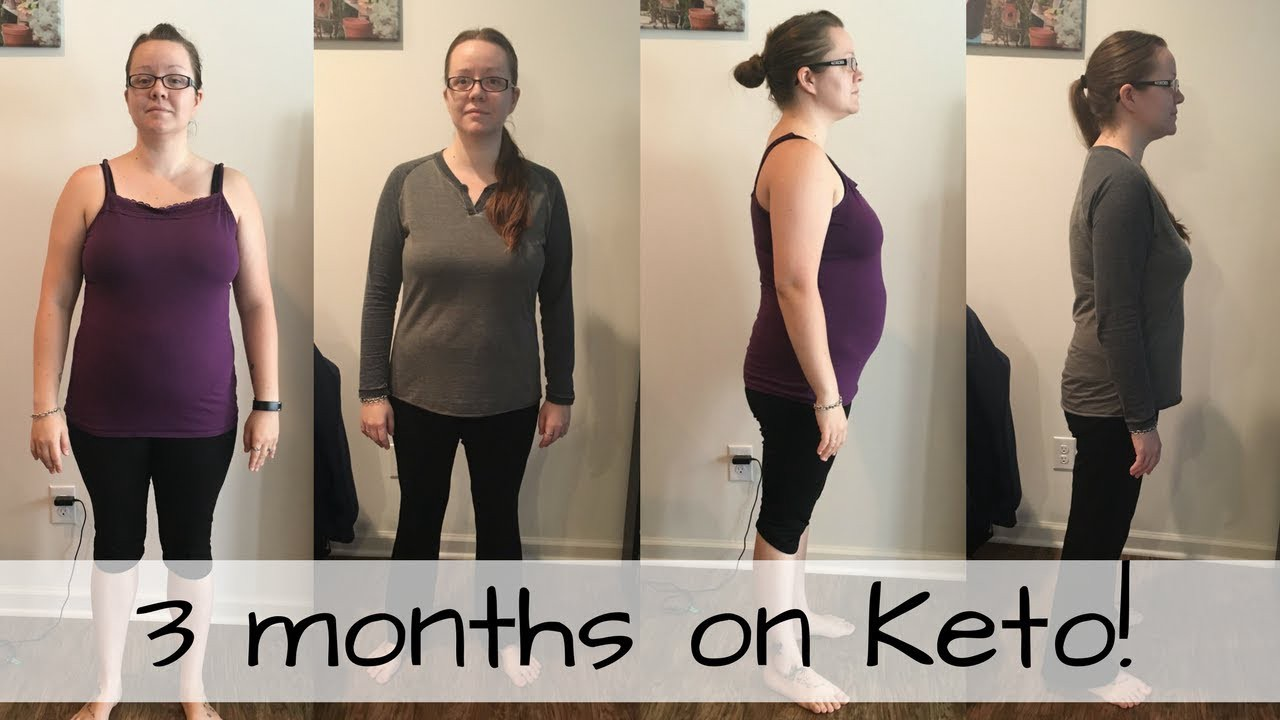 3 months on ketogenic weight loss diet