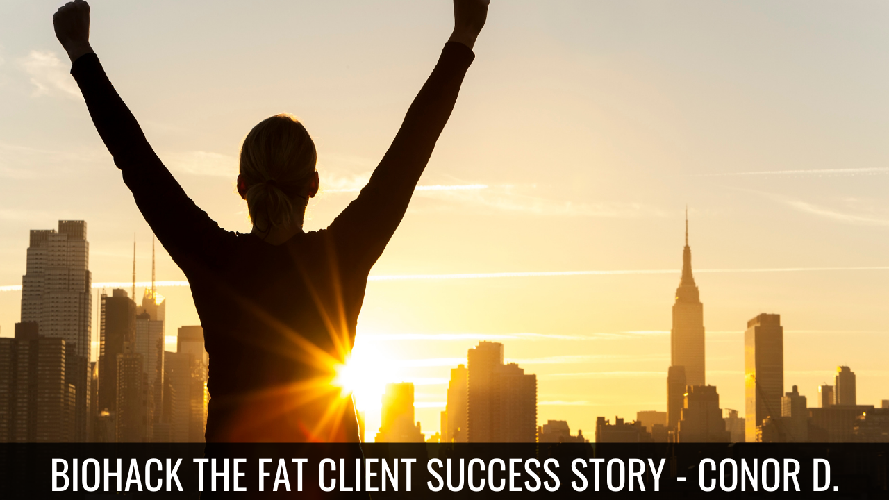 Biohacking Your Body Fat — Trevor Folgering, Client Success Story