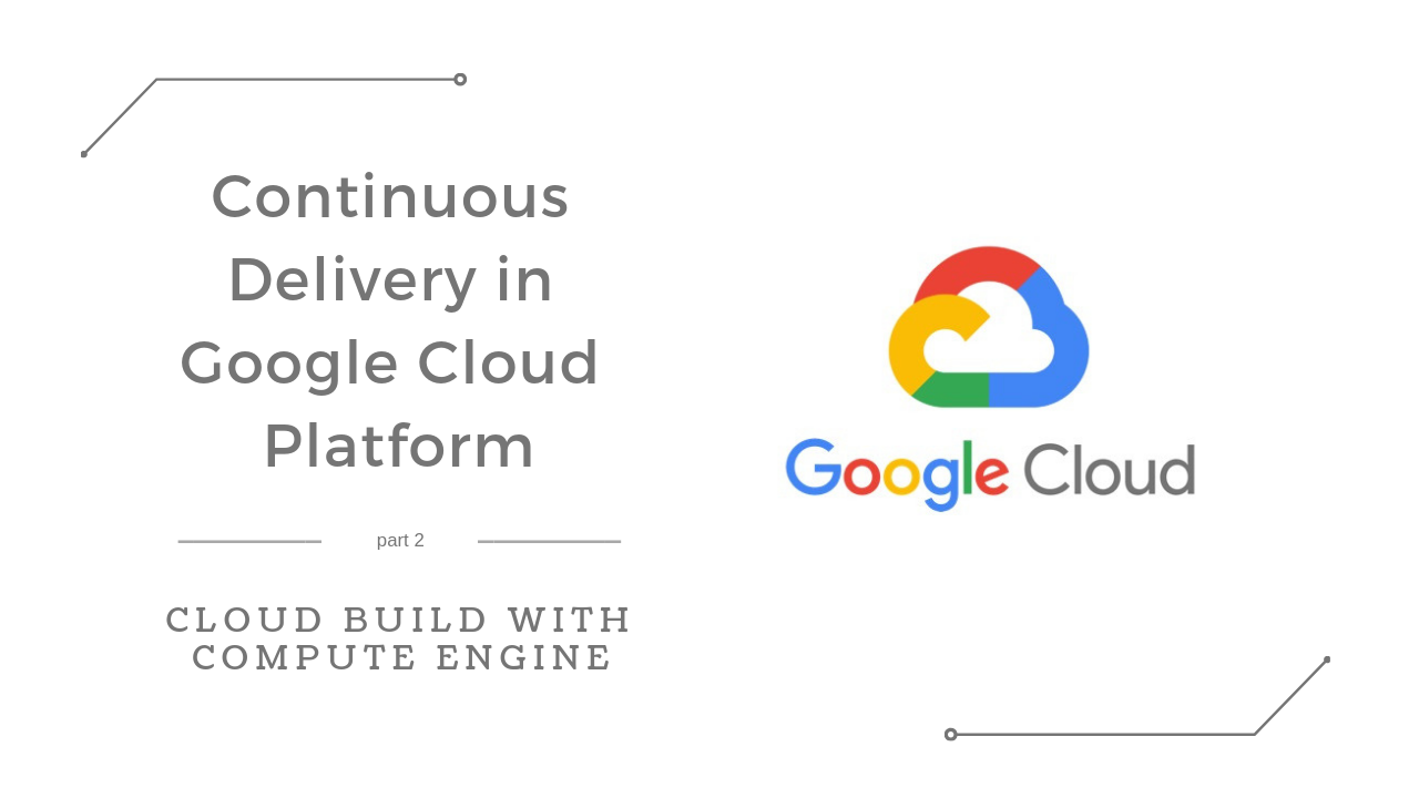 Continuous Delivery in Google Cloud Platform — Cloud Build