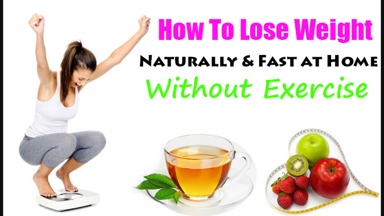 How To Lose Weight Naturally Without Exercise By Anirudh B Live Your Life On Purpose Medium